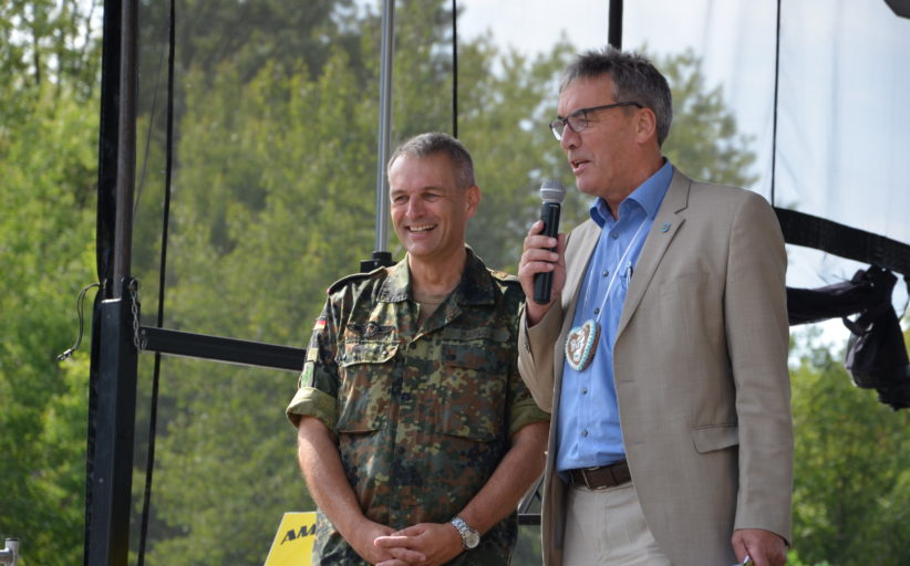 Das Heimat und Soldatenfest in Stadtallendorf hat begonnen!
