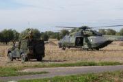 Bundeswehr übt Rettungsaktionen von Deutschen Bürgern aus Krisengebieten im Ausland