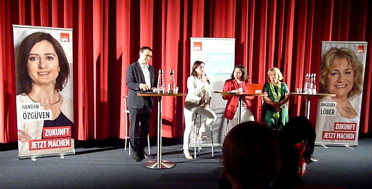 Grosses Kino mit der SPD