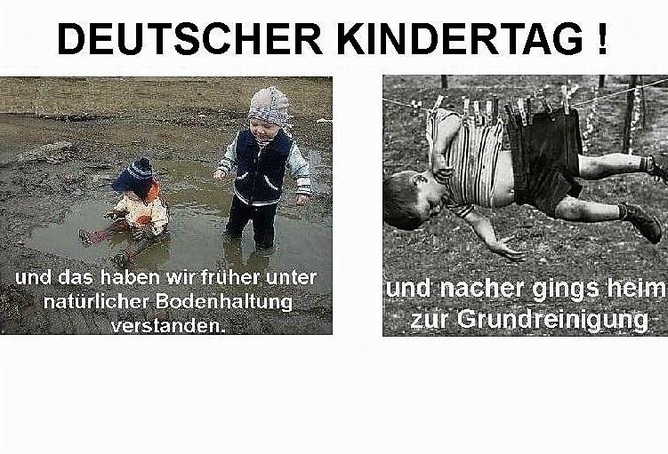 Heute ist der Deutsche Kindertag