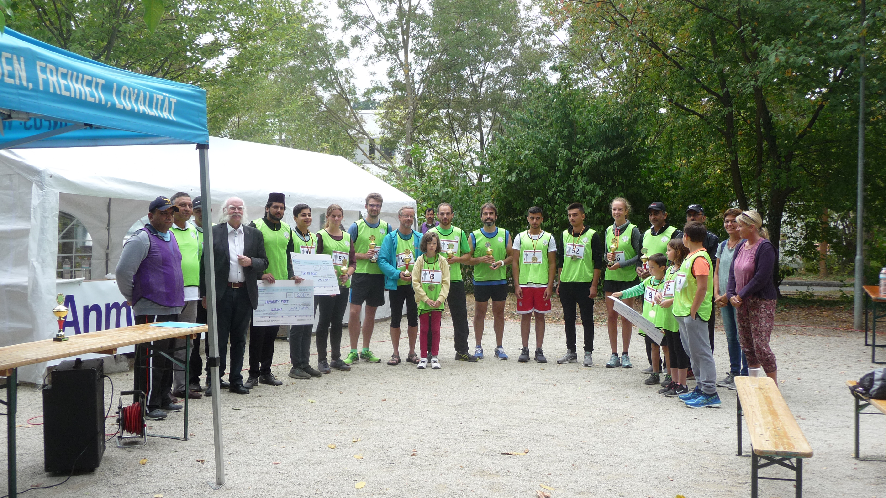 Charity-Walk: 5,4 km-Lauf in Marburg