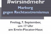 Marburg will Gesicht zeigen unter dem Motto