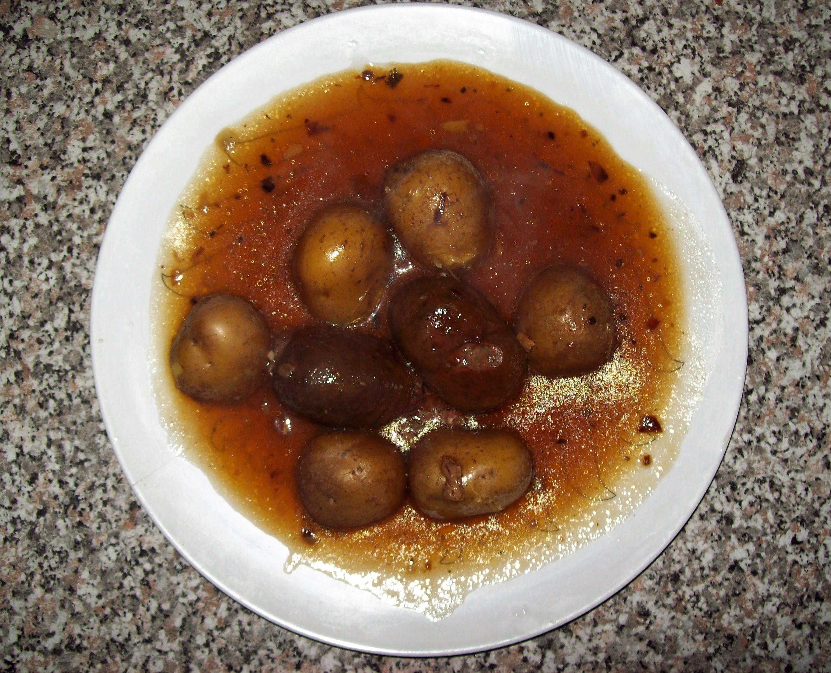 Vorschlag für ein gutes Mittagessen, nach einem Rezept aus der Region