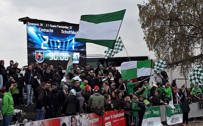 Heute muss unsere Eintracht gegen Mainz ran