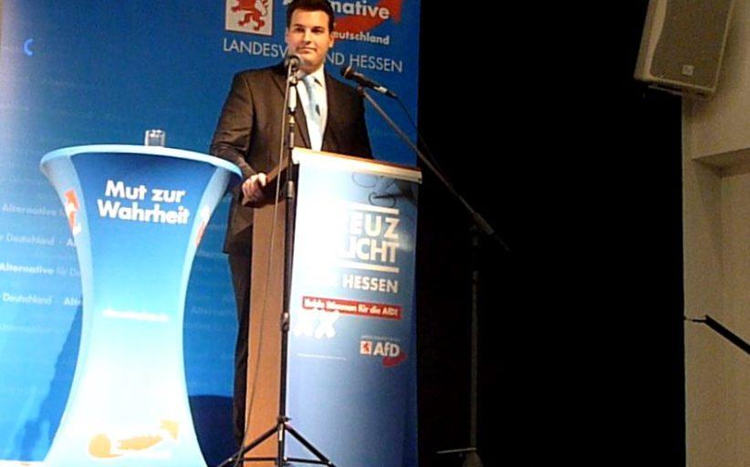 AfD: Prominenz beim Wahlkampftag in Kirchhain