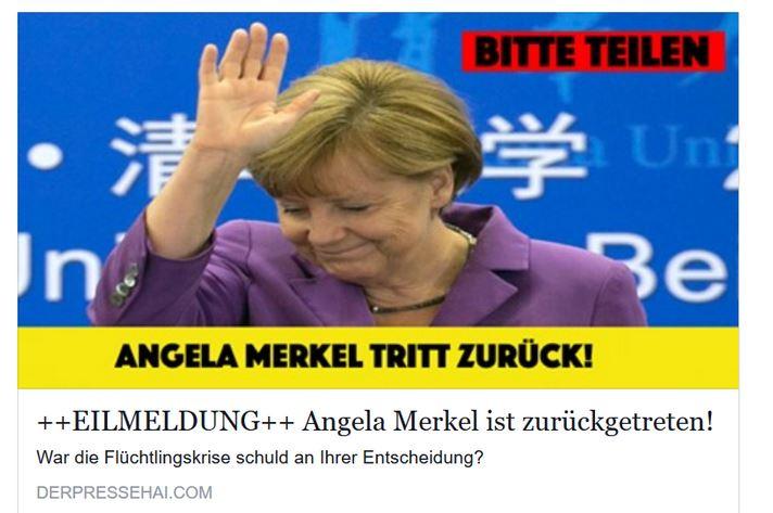 Reicht der Rücktritt von Merkel vom Amt als Parteivorsitzende der CDU aus?