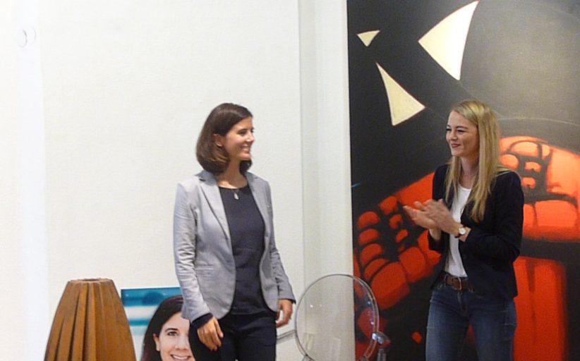 FDP-Wahlkampfauftakt an einem Freitag im September mit Lisa Freitag