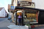 Hoffnungsträgerin eröffnet Altstadt Bäckerei