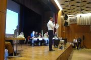 Stürmische Podiumsdiskussion mit Landtagskandidaten in Cappel