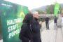 Minister Tarek Al-Wazir traut sich an die Lahntreppe
