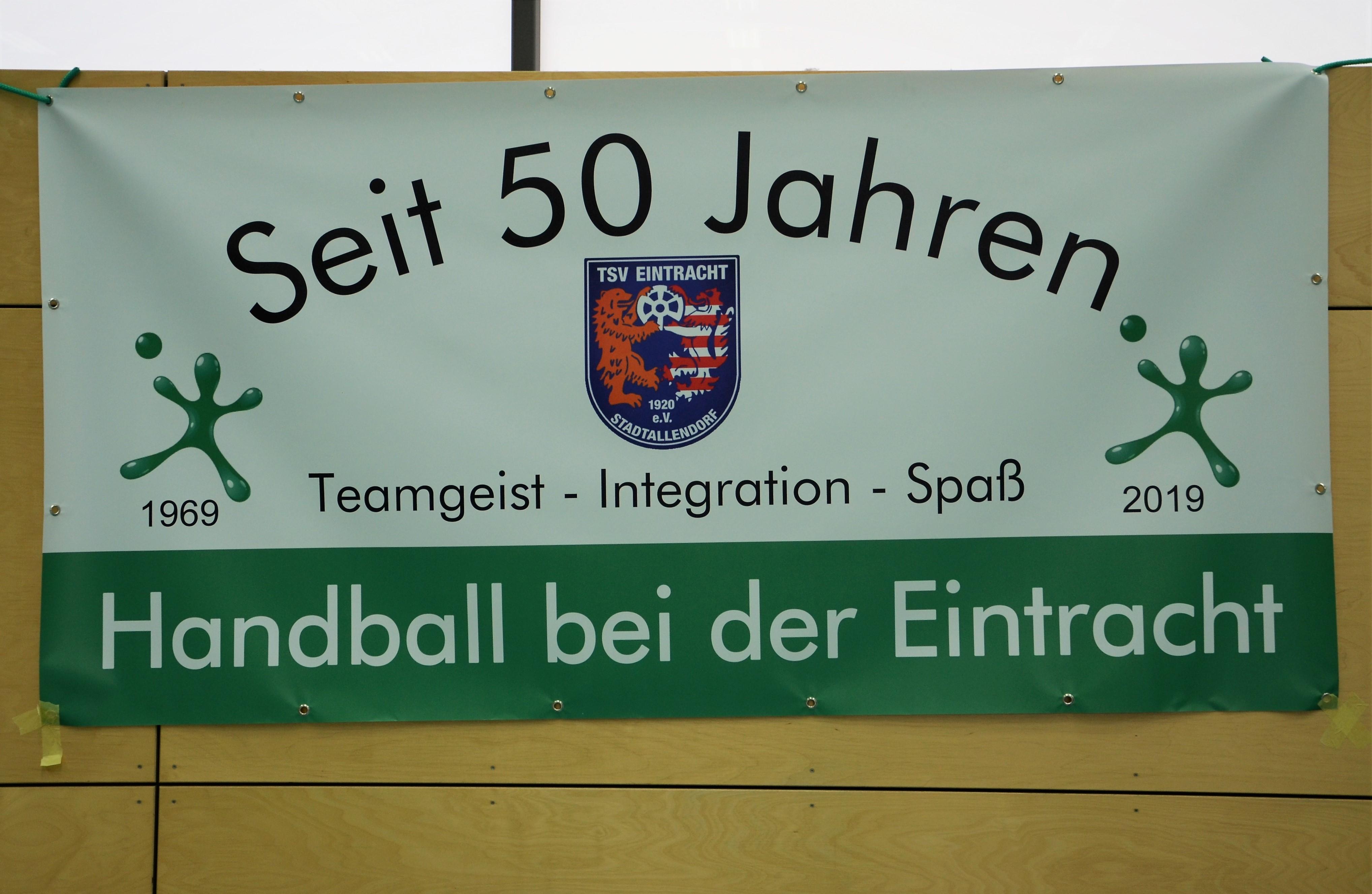Es war ein schöner Tag bei den Handballern des TSV Eintracht Stadtallendorf