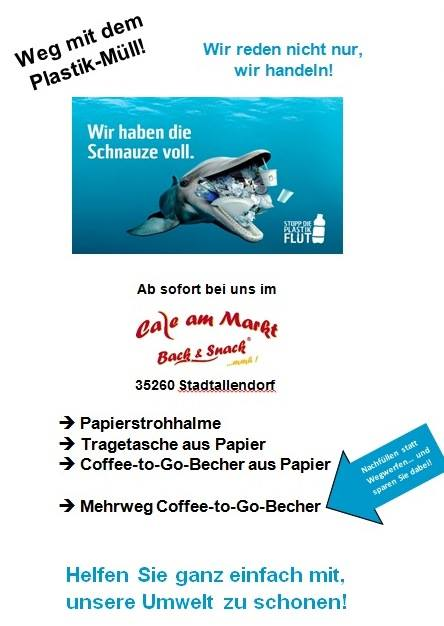 Cafe am Markt in Stadtallendorf schneller wie die Europäische Union