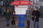 SPD Marburg bei Minus 8 Grad im Einsatz
