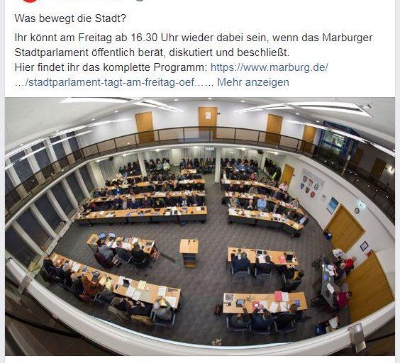 Zweierlei Recht in Marburg