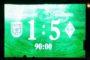 Eintracht verliert gegen den Tabellenführer klar mit 1:5 (0:1)