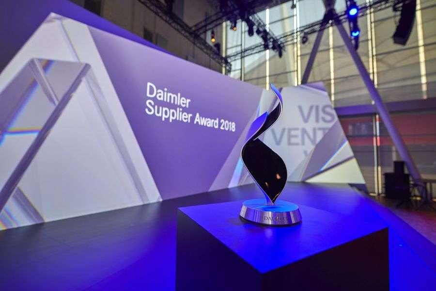 Daimler zeichnet Eisengießerei Fritz Winter aus