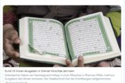 Bremen: 50mal mehr Korane in Moschee zerrissen als in Marburg gegenüber der CDU-Geschäftsstelle